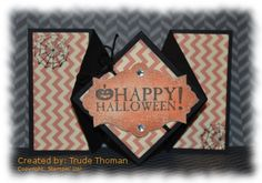 Seasonal Sayings Stampin' Up! Halloween card