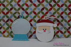 Christmas tags.  Doodlecharms cricut