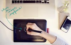 adding that personal touch / bamboo tablet
