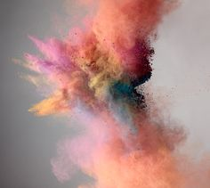 Photograph by Marcel Christ.  Color, Explosion, Photography