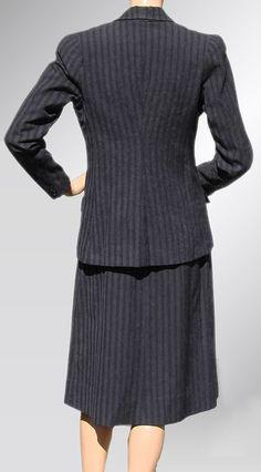 1930s Women's Suit Back