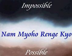 Nam Myoho Renge Kyo Buddha Nature Pinterest Buddhism