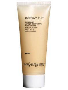 Yves Saint Laurent Gommage Natural Action Exfoliator for normal skin. None of those abrasive granules.