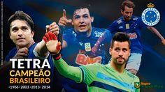 Baixe o papel de parede dos ídolos - Cruzeiro Campeão Brasileiro 2014