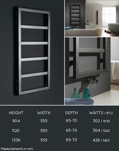 <span style='color: #000000;'>Box Ladder Towel Radiator (59N)</span> Alternative for master bathroom