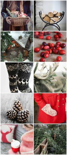 Christmas time! reminds me of home and family<3