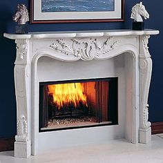 1000 images about marble fireplace mantels on pinterest marble fireplaces mantels and marbles - Solid stone fireplace mantels with nice appearance ...