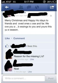 The Christmas Joke:
