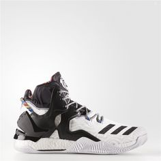 4d42471c13b4 Adidas D Rose 7 Shoes (Running White Ftw   Black   Metallic Gold) Adidas