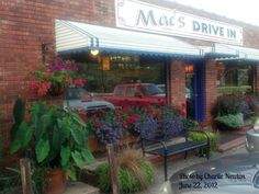 Mac's Drive In - Clemson SC - It is Part Of The History Of Clemson SC...now I want a cheeseburger!
