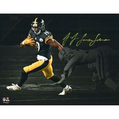 7c4682a37 Autographed Pittsburgh Steelers JuJu Smith-Schuster Fanatics Authentic 11