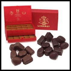 Leonidas Chocolate Brussels Gastronomy the red itinerary in