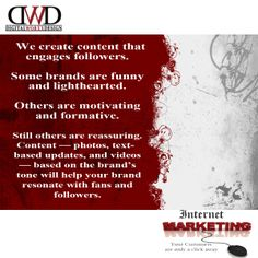 We understand that you want your marketing dollars to stretch as far as possible. DWD provides you with affordable marketing options, designed to suit your specific budget and advertising objectives.