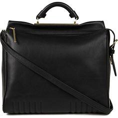 3.1 PHILLIP LIM Ryder leather satchel (Black