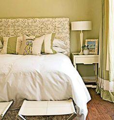 Green Bedroom Paint blue-green interior color schemes, living room decorating | living