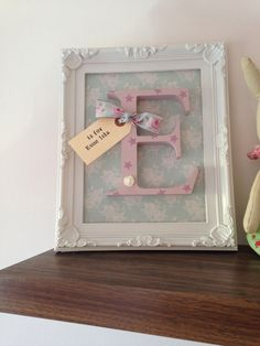 Personalised girls nursery decoration