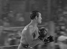 Gentleman Jim (1942) featuring Ward Bond as John L. Sullivan.
