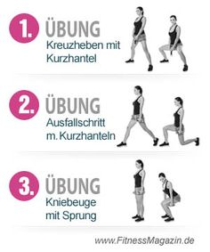 3 Übungen schlanke Beine
