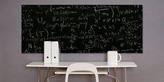 Long Chalkboard Decal FREE Chalk Pen by DecalDesignStudio on Etsy