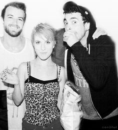 paramore - the old stuff is better than the new stuff, but i still got respect :)