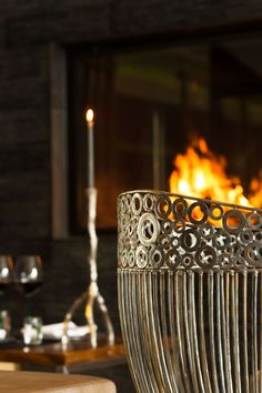 Alpiner Lifestyle Design Hotel, Superior Hotel, Modern, Candle Holders, Candles, Home, Cosy Room, Dekoration, Trendy Tree