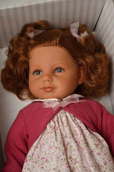 Realistická panenka Noa Pirris - zrzavé vlasy - Antonio Juan ze Španělska