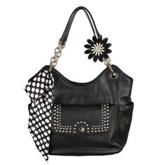 #GraceAdele Black Carly Bag, Paige Clutch, Bag Scarf, Dahlia clip-on.  Complete look $320