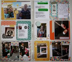 Project Life Catch Up - Weeks 14-17 2015