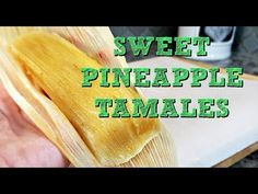 Sweet Tamales, Corn Tamales, Mexican Tamales, Mexican Dinner Recipes, Mexican Cooking, Mexican Dishes, Mexican Desserts, Spanish Recipes, Spanish Food