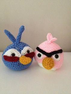 Amigurumi Green Pig : Angry Birds Red Cardinal and Green Pig Amigrumi Pattern ...