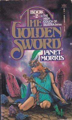 Golden Sword by Janet Morris, http://www.amazon.com/dp/0671559192/ref=cm_sw_r_pi_dp_x3aUpb0M2ZFKP