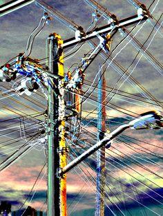 caos de alambres elèctricos a l'havana