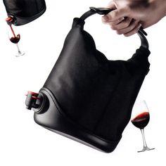 Bolsa que acondiciona vinho
