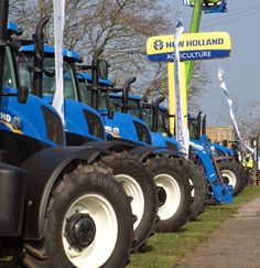 C&O Tractors Blandford Open Day - 18th March 2015.