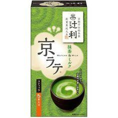 Tsuji Kita Kyo Latte (Matcha & Milk) 5 Pieces (70 grams)