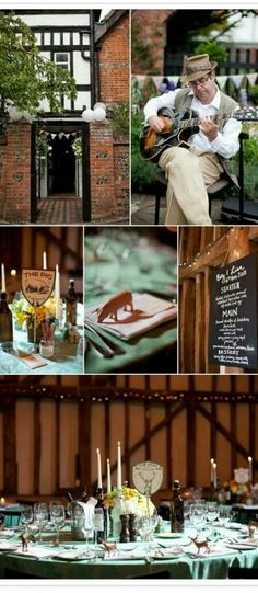 Town & Country Wedding - England.