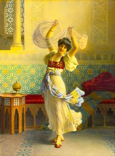 "Ballesio Francesco - Dance Of Veils (from <a href=""http://www.oldpainters.org/picture.php?/44894/category/15127""></a>)"
