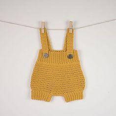 Crochet Baby Romper Pattern