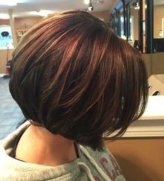 Trendy Brown Bob