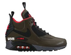 Nike Air Max 90 Winterized Sneakerboot (Autumn/Winter 2015 Preview)
