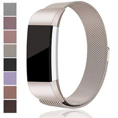 For Fitbit Charge 2 Bands, Maledan Stainless...