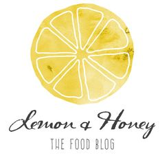 Pre-made Logo Design  Lemon Watercolor Yellow Logo  by VisualPixie