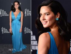 Olivia Munn In JMendel - Love everything about this look!