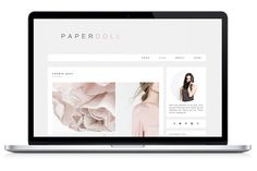 Check out Responsive WP Theme - Paperdoll by Light Morango on Creative Market. Feminine Wordpress Theme