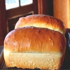 Amish White Bread: Fluffy Old Fashioned Loaf - Recetas De Pan Casero Amish White Bread, Amish Bread, No Yeast Bread, Yeast Bread Recipes, Quick Bread Recipes, Bread Machine Recipes, Pan Bread, Bread Baking, Baking Soda