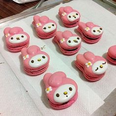 My Melody macaroons