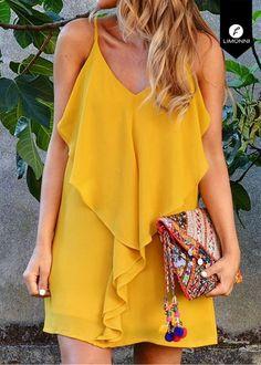 Fashion Casual Plus Size Shape 23 Ideas Simple Dresses, Cute Dresses, Short Dresses, Looks Style, Casual Looks, Casual Dress Outfits, Fashion Outfits, Casual Chic, Travel Dress