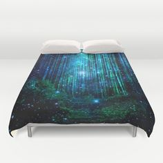 Buy ultra soft microfiber Duvet Covers featuring magical path by haroulita. Hand sewn and meticulously crafted, these lightweight Duvet Cover vividly feature your favorite designs with a soft white reverse side.