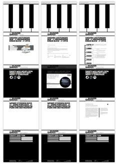 Klavier Service Möhling // Corporate Design by Nils Ulsamer, via Behance
