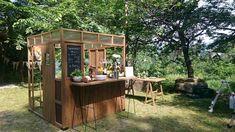 Bistro Design, Cafe Shop Design, Kiosk Design, Cafe Interior Design, Small Coffee Shop, Coffee Store, Mini Cafe, Mobile Cafe, Coffee Stands